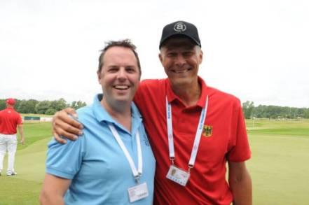 Marc mit WDGF Sekretär G.Balharrie
